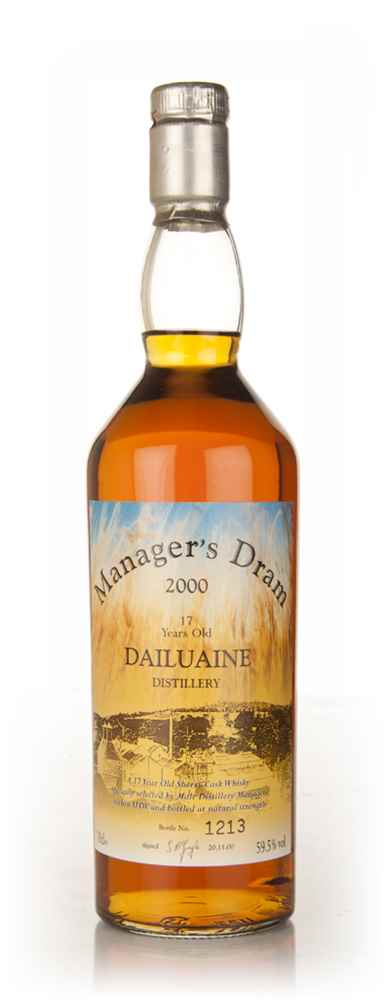 Dailuaine 17 Year Old - The Manager's Dram