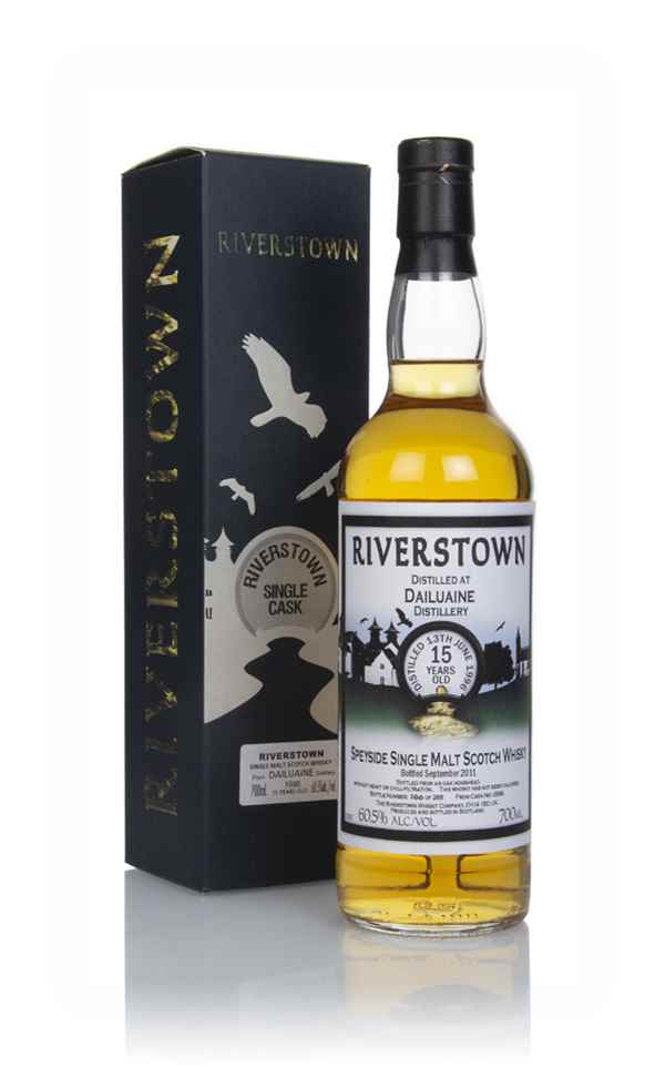 Dailuaine 15 Year Old 1996 (cask 2586) - Riverstown