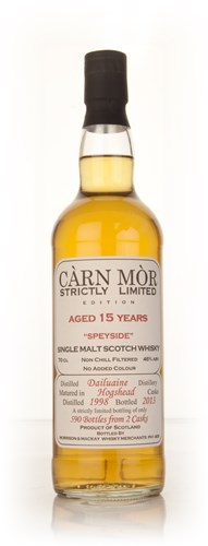 Dailuaine 15 Year Old 1998 - Strictly Limited (Càrn Mòr)