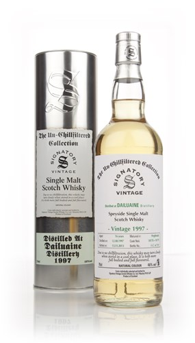 Dailuaine 16 Year Old 1997 (cask 10178-10179) - Un-chillfilltered (Signatory)
