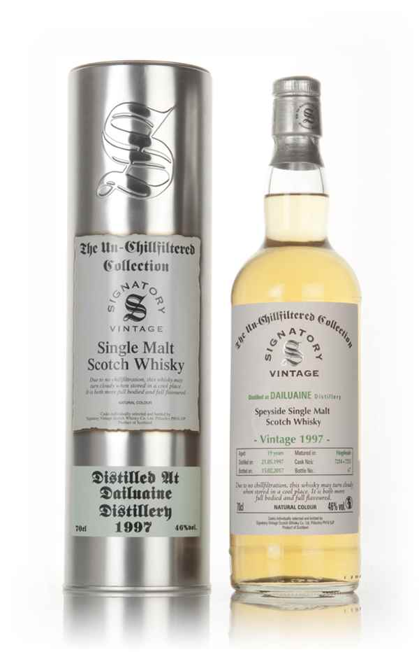 Dailuaine 19 Year Old 1997 (casks 7214 & 7215) - Un-Chillfiltered Collection (Signatory)
