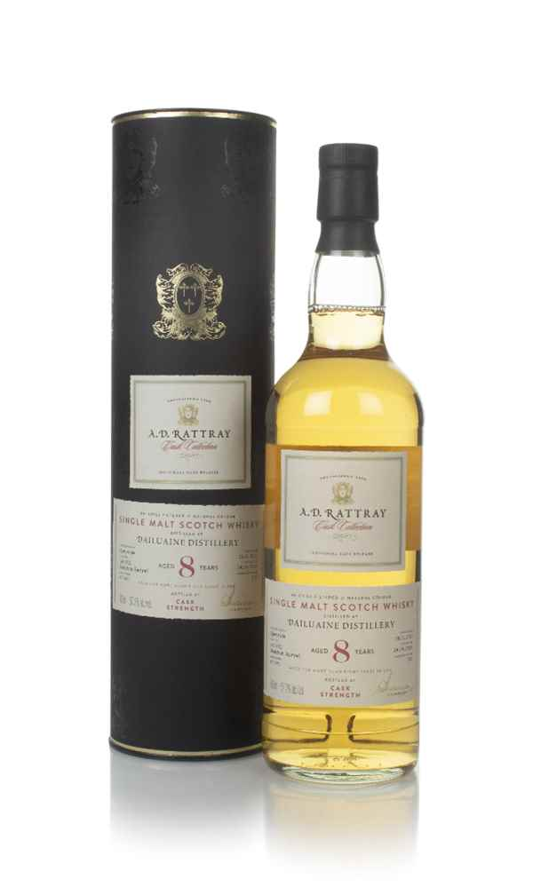 Dailuaine 8 Year Old 2011 (cask 800470) - Cask Collection (A.D. Rattray)