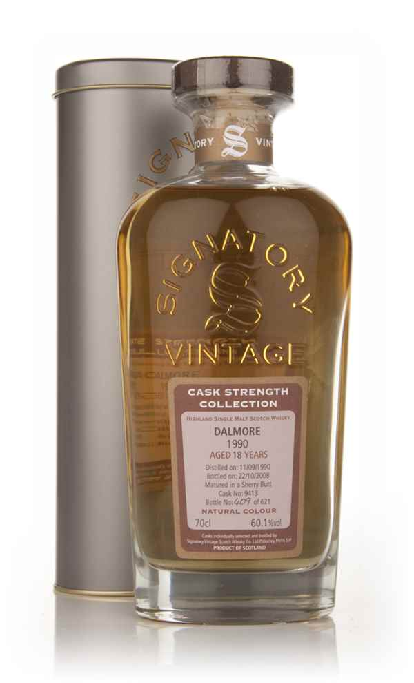 Dalmore 18 Year Old 1990 - Cask Strength Collection (Signatory)