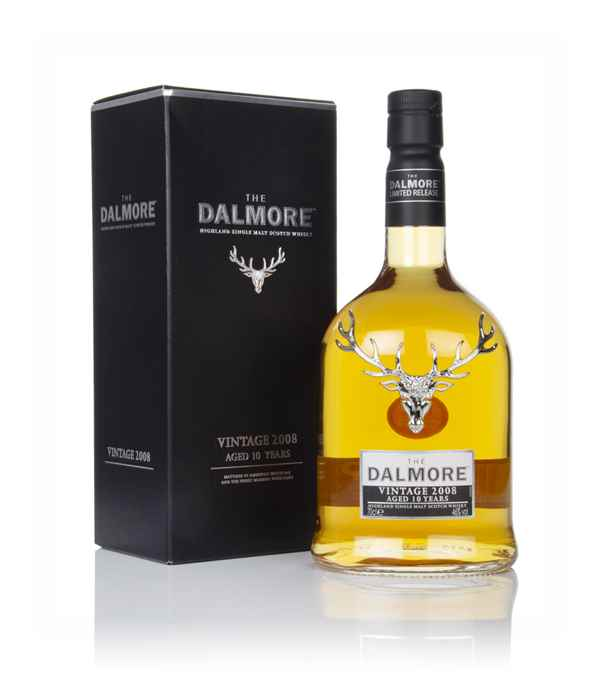 Dalmore 10 Year Old - Vintage 2008