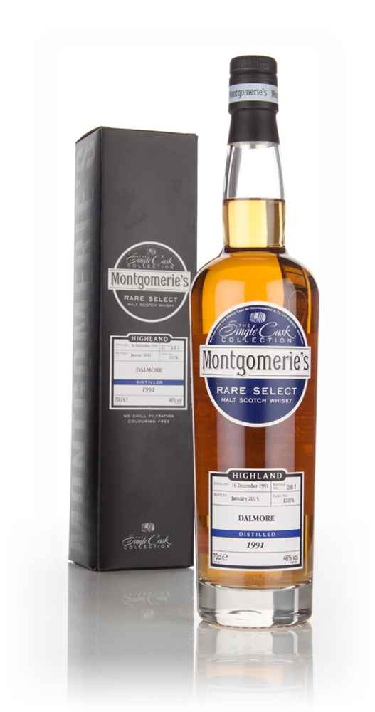 Dalmore 23 Year Old 1991 (cask 12174) - Rare Select (Montgomerie's)