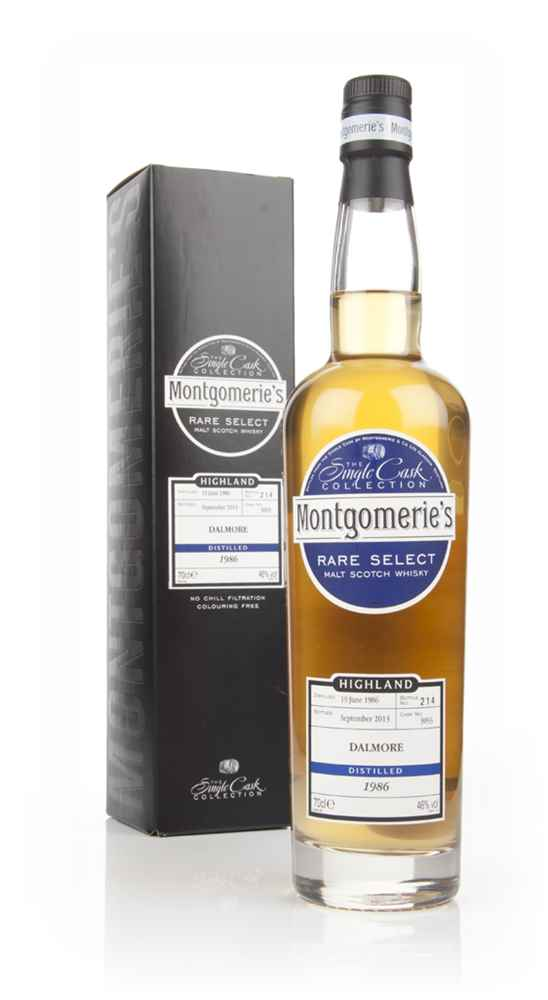 Dalmore 27 Year Old 1986 (cask 3093) - Rare Select (Montgomerie's)