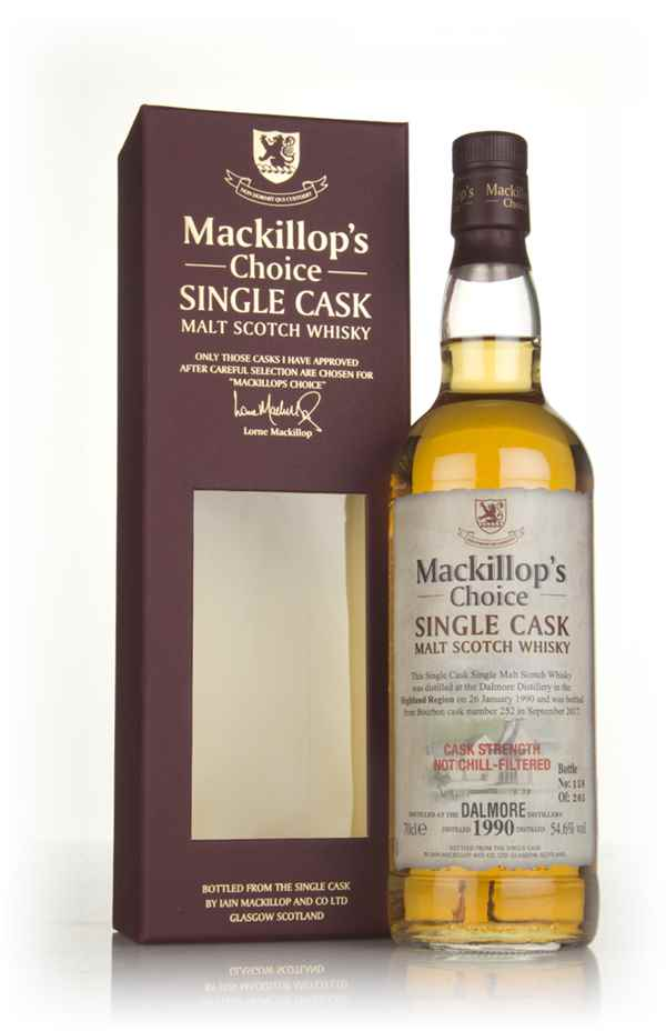 Dalmore 27 Year Old 1990 (cask 252) - Mackillop's Choice
