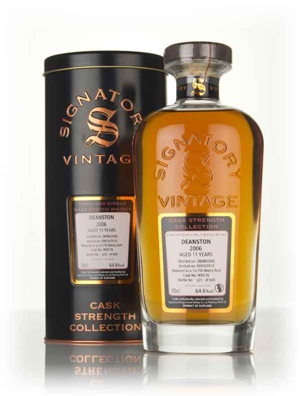 Deanston 11 Year Old 2006 (cask 900126) - Cask Strength Collection (Signatory)