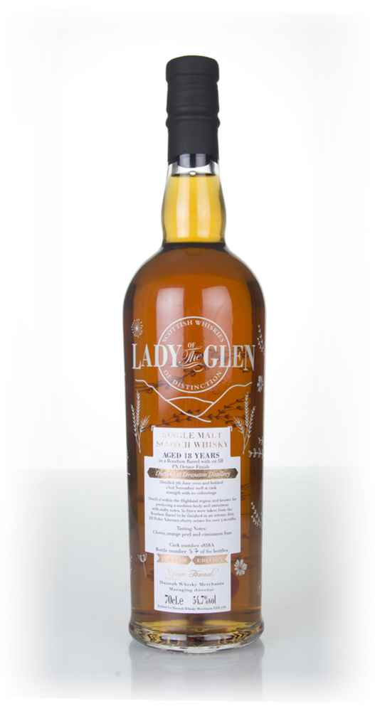 Deanston 18 Year Old (cask 1858) - Lady of the Glen (Hannah Whisky Merchants)