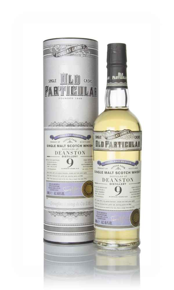 Deanston 9 Year Old 2009 (cask 13199) - Old Particular (Douglas Laing)
