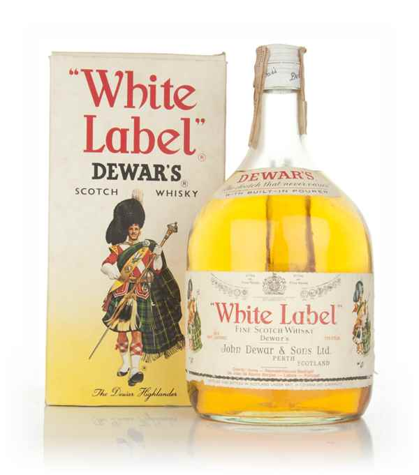 Dewar's White Label 1.75l - 1970s