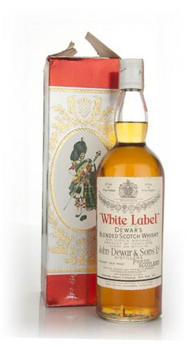 Dewars White Label - 1970s