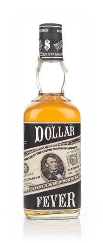Dollar Fever Kentucky Straight Bourbon - 2000s