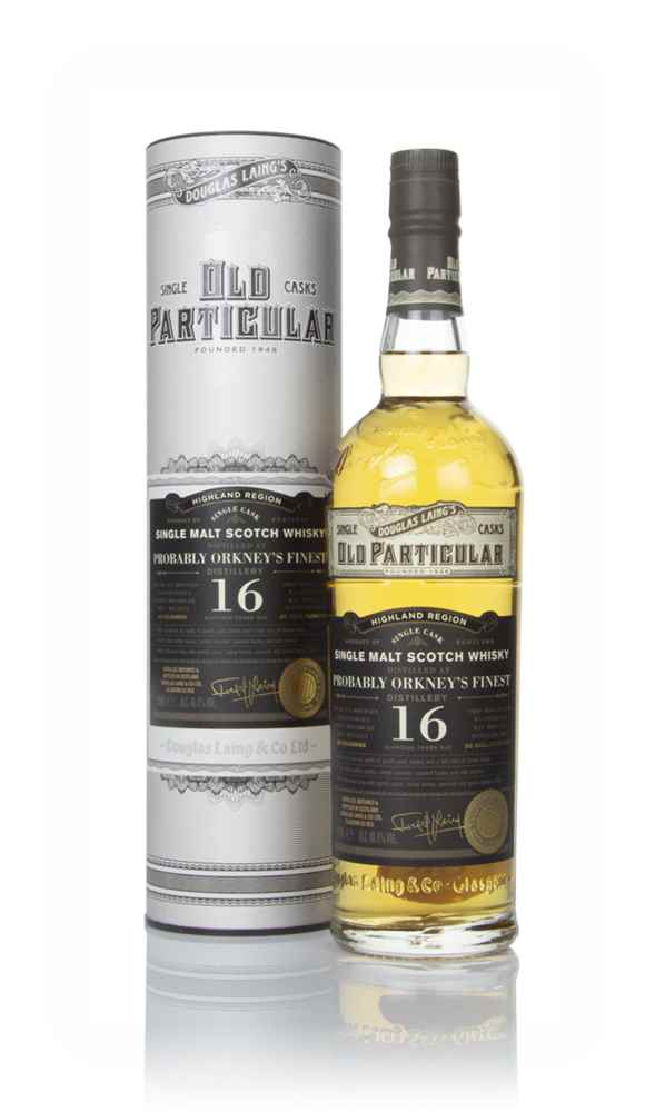 Probably Orkney's Finest Distillery 16 Year Old 2003 (cask 13371) - Old Particular (Douglas Laing)