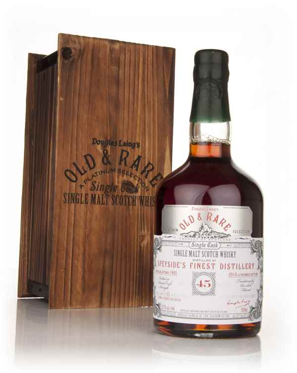 Probably Speyside's Finest 45 Year Old 1965 - Old and Rare Platinum