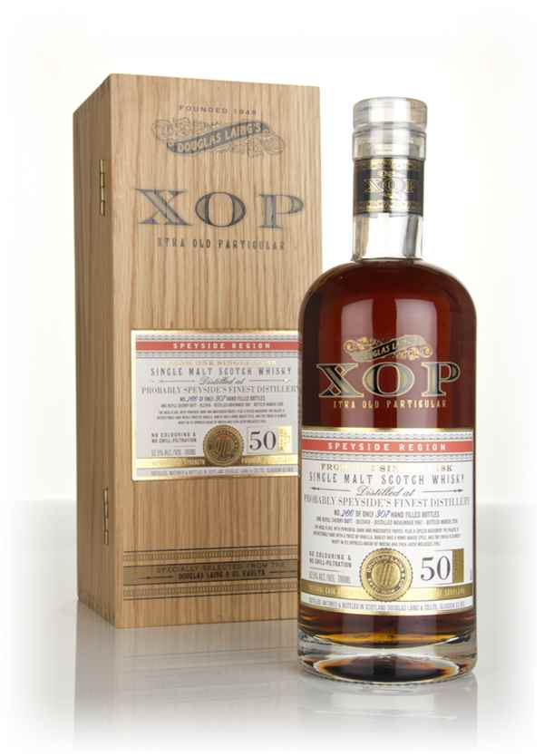 Probably Speyside's Finest Distillery 50 Year Old 1967 (cask 12418) - Xtra Old Particular (Douglas Laing)