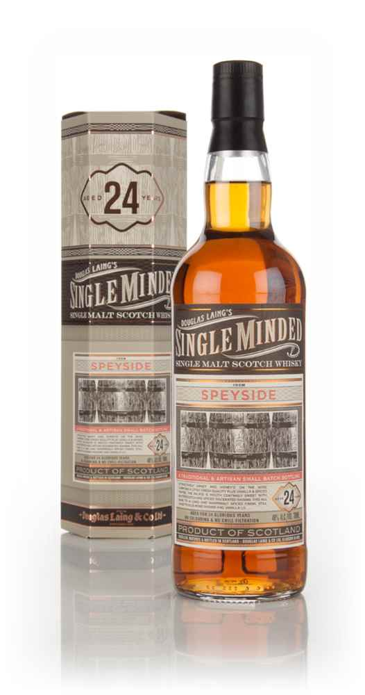Speyside 24 Year Old - Single Minded (Douglas Laing)