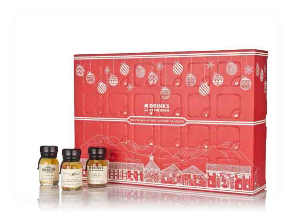 Premium Whisky Advent Calendar - Red (2018 Edition)