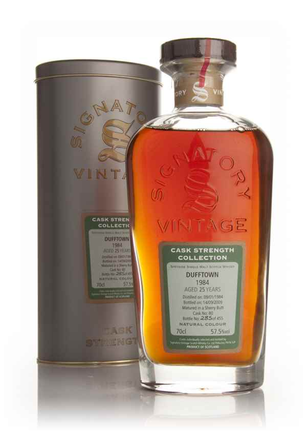 Dufftown 25 Year Old 1984 - Cask Strength Collection (Signatory)