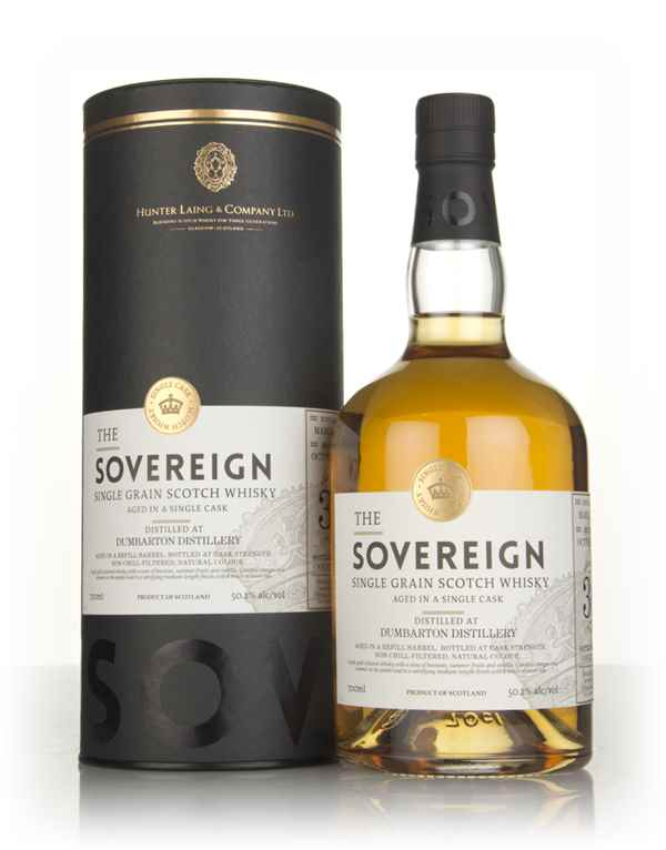 Dumbarton 30 Year Old 1987 (cask 14327) - The Sovereign (Hunter Laing)