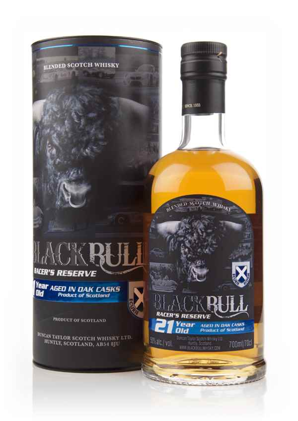 Black Bull Racer's Reserve 21 Year Old (Duncan Taylor)