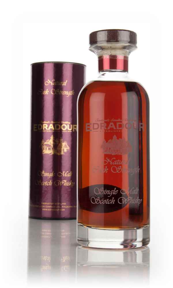 Edradour 14 Year Old 2000 (cask 3144) Natural Cask Strength - Ibisco Decanter
