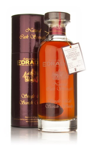 Edradour 1997 Cask 186 - Ibisco Decanter