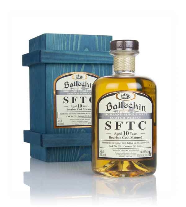 Ballechin 10 Year Old 2008 (cask 276) - Straight From The Cask