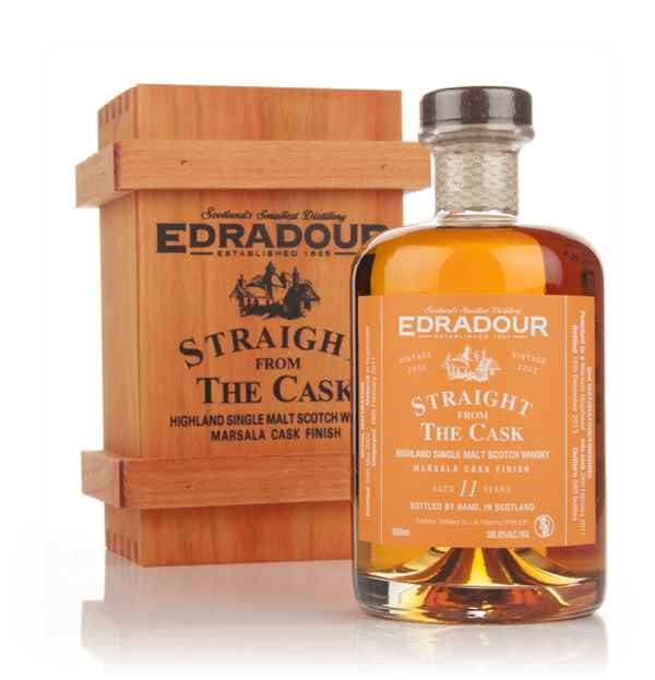 Edradour 11 Year Old 2002 Marsala Cask Finish - Straight From The Cask