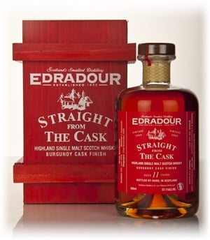 Edradour 11 Year Old 2000 Burgundy Cask Finish - Straight from the Cask 57.1%
