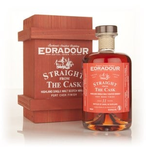 Edradour 11 Year Old 2001 Port Wood Finish - Straight from the Cask