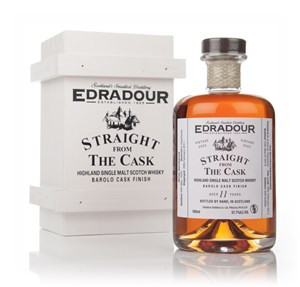 Edradour 11 Year Old 2002 Barolo Cask Finish - Straight From The Cask 57.7%