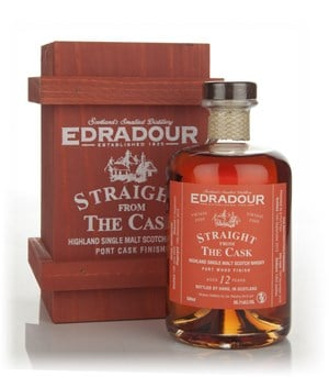 Edradour 12 Year Old 2000 Port Wood Finish - Straight from the Cask