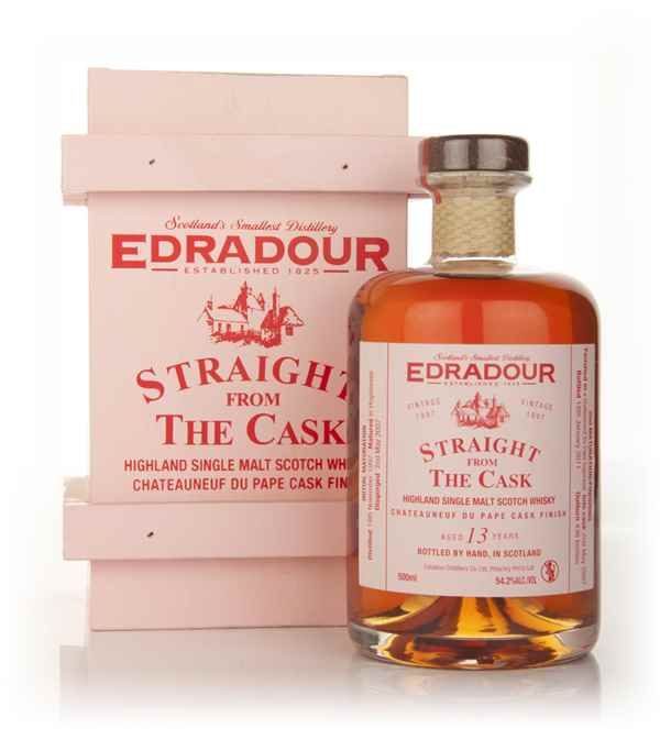 Edradour 13 Year Old 1997 Châteauneuf-du-Pape Cask Finish - Straight from the Cask 54.2%