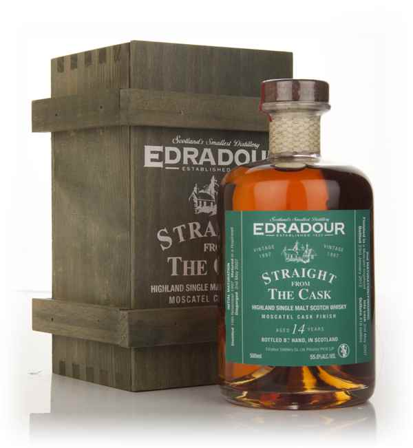 Edradour 14 Year Old 1997 Moscatel Cask Finish - Straight from the Cask
