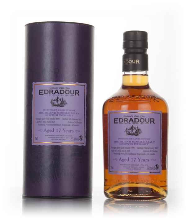 Edradour 17 Year Old 1999 - Bordeaux Cask Finish