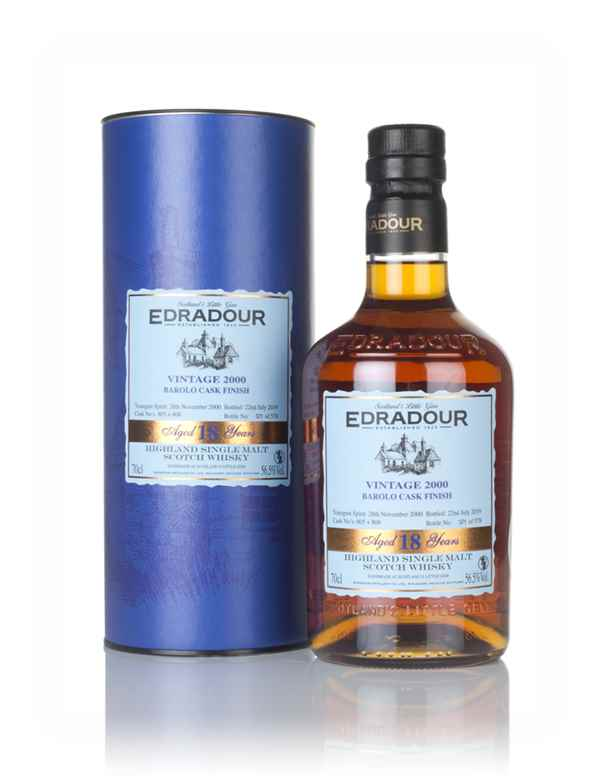 Edradour 18 Year Old 2000 - Barolo Cask Finish