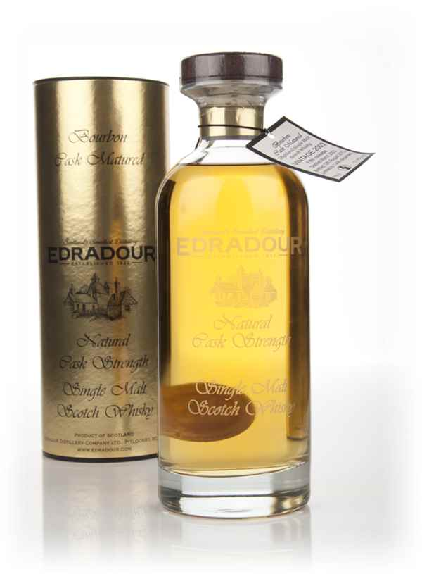 Edradour 2003 (5th Release) Bourbon Cask Matured Natural Cask Strength - Ibisco Decanter