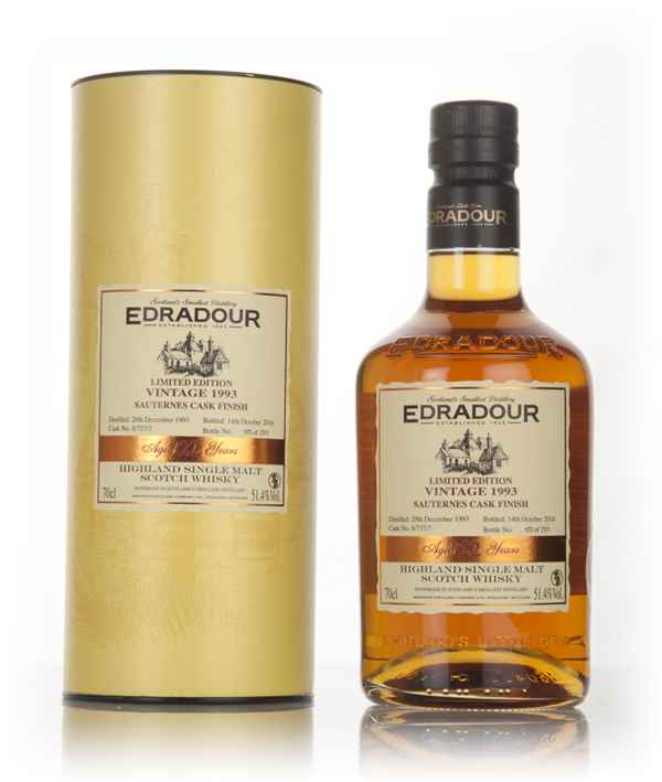 Edradour 22 Year Old 1993 Cask 8 737 7