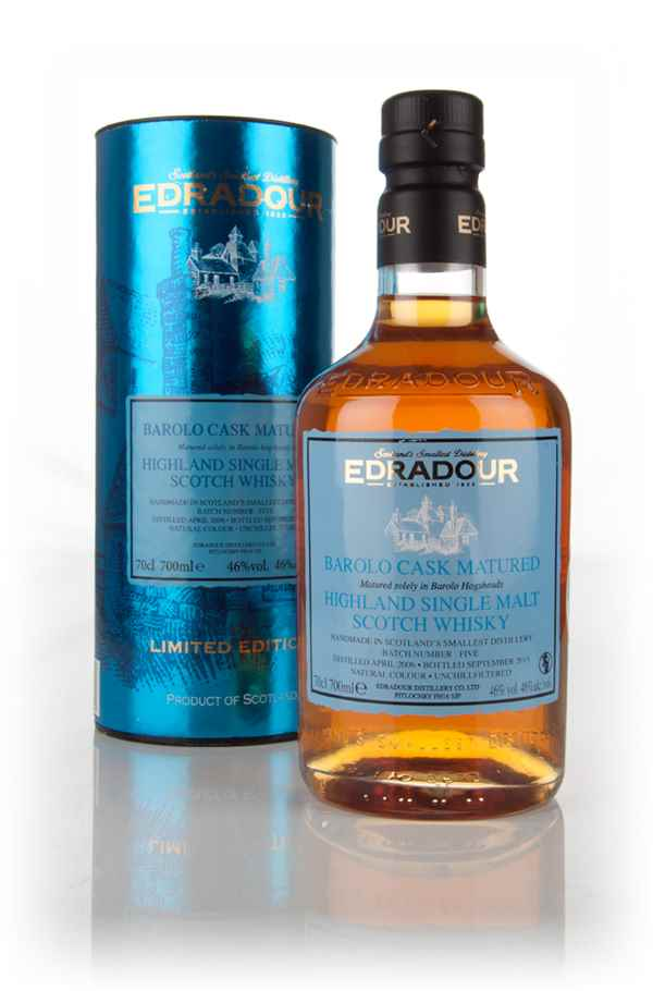Edradour 9 Year Old 2006 Barolo Cask Matured - Batch 5