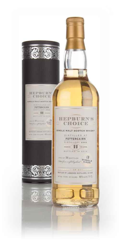 Fettercairn 11 Year Old 2002 - Hepburn's Choice (Langside)