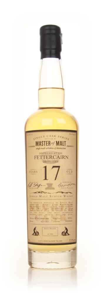 Fettercairn 17 Year Old 1995 - Single Cask (Master of Malt)