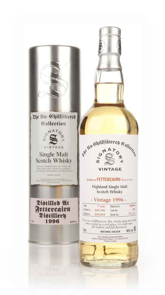 Fettercairn 17 Year Old 1996 (cask 4349) - Un-Chillfiltered (Signatory)