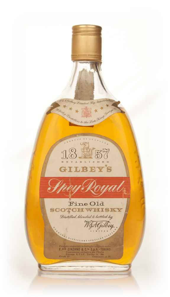 Gilbey's Spey Royal - 1960s