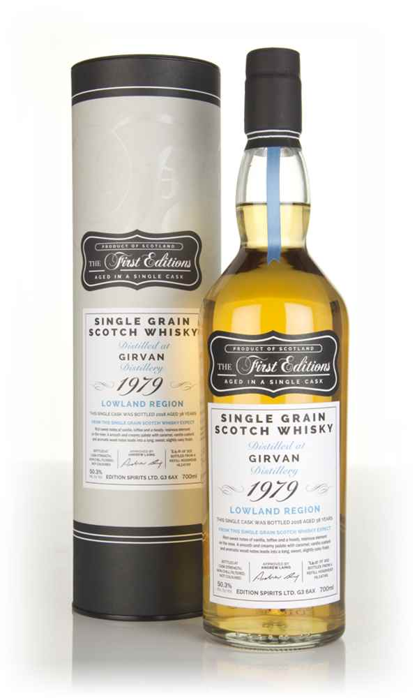 Girvan 38 Year Old 1979 (cask 14749) - The First Editions (Hunter Laing)