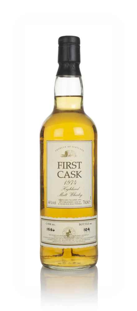 Glen Albyn 26 Year Old 1974 (cask 1586) - First Cask