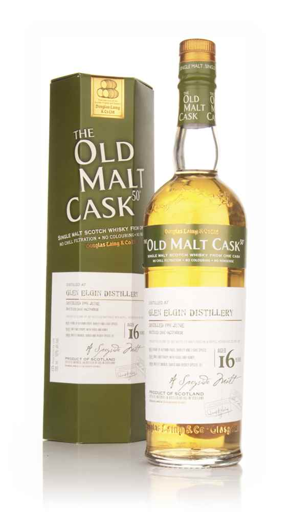 Glen Elgin 16 Year Old 1991 Cask 3927 - Old Malt Cask (Douglas Laing)