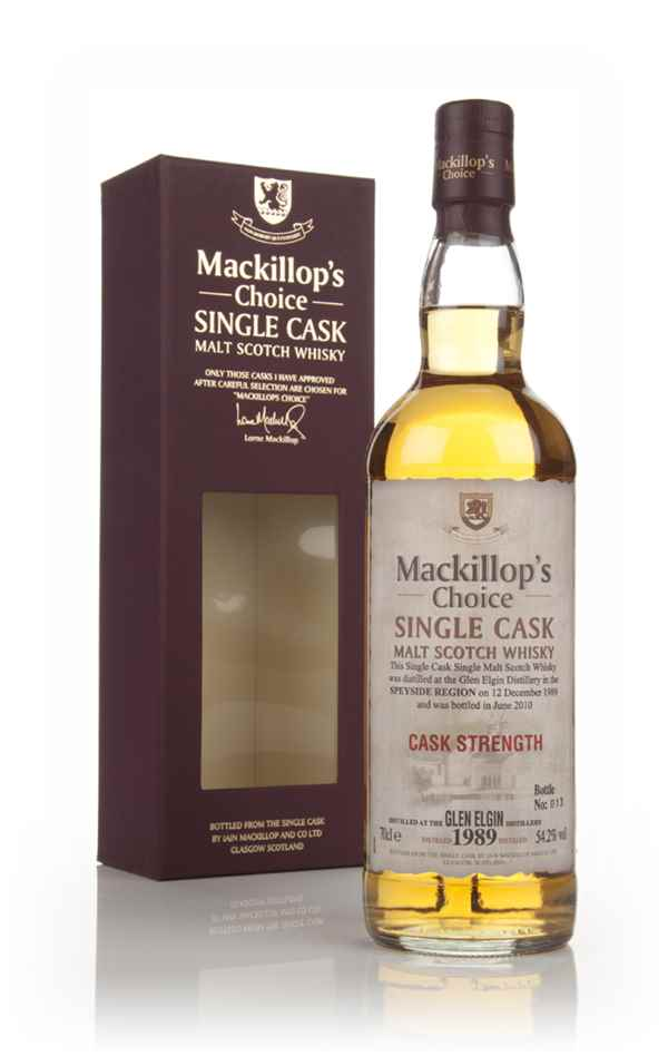 Glen Elgin 20 Year Old 1989 - Mackillop's Choice 54.2%