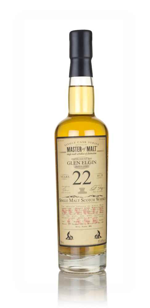 Glen Elgin 22 Year Old 1995 - Single Cask (Master of Malt)