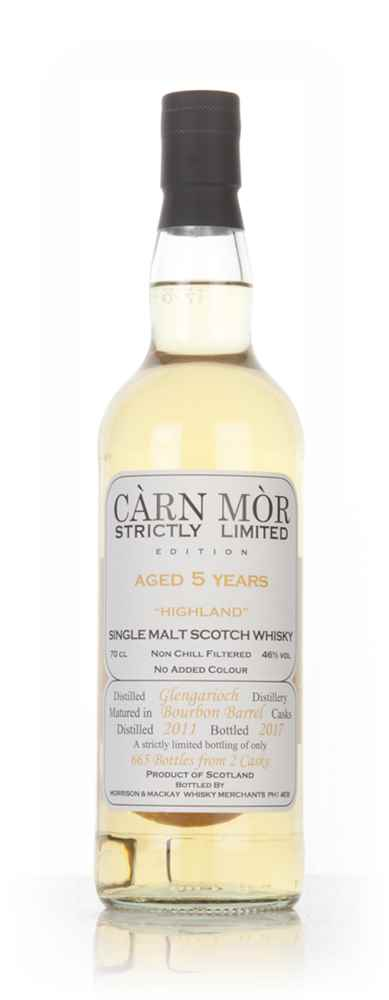 Glen Garioch 5 Year Old 2011 - Strictly Limited (Càrn Mòr)